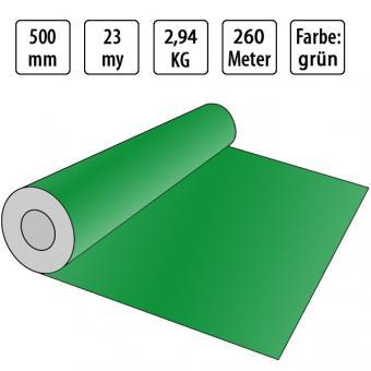 grüne Handstretchfolie 23my - 500mm x 260m