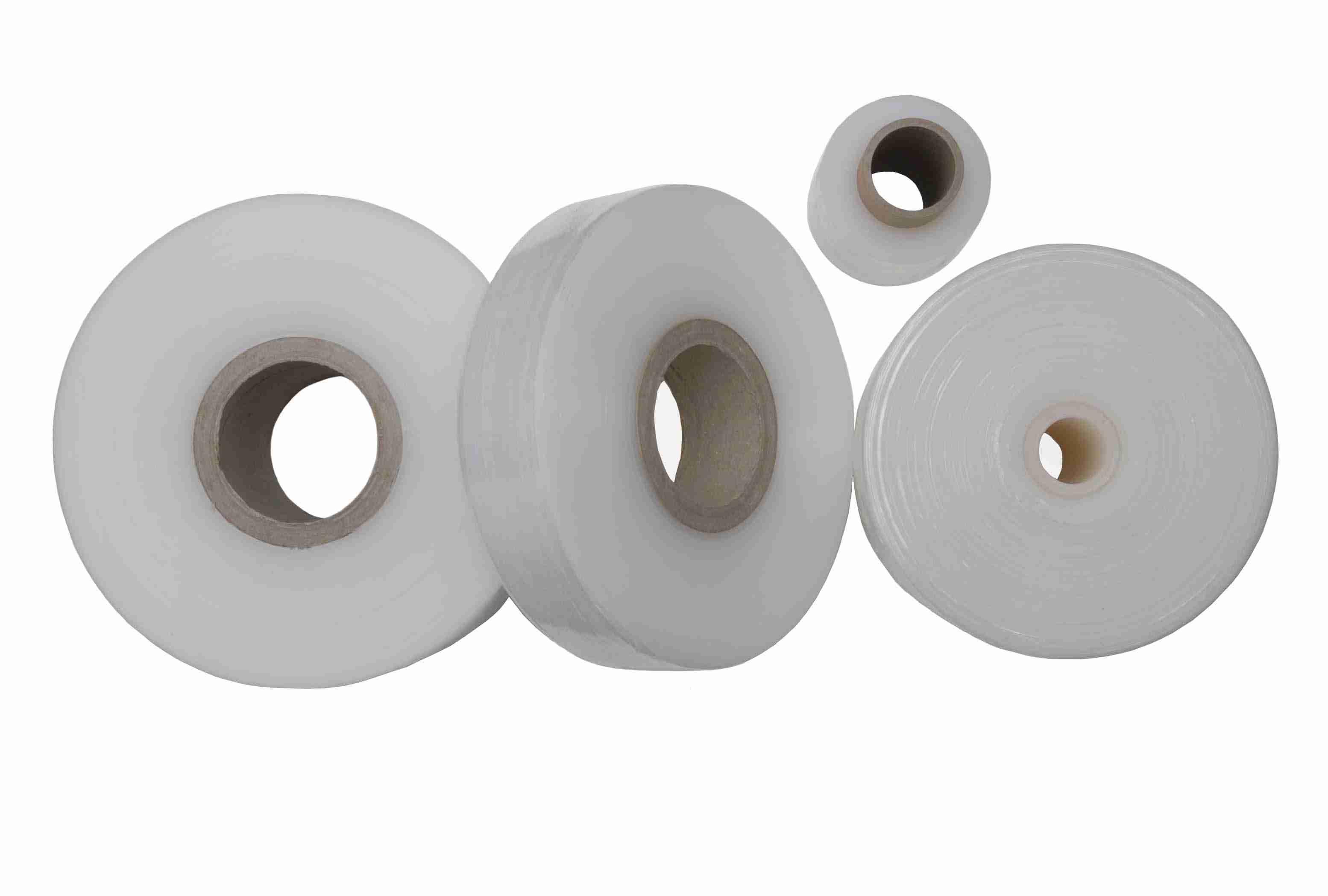Stretchfolie transparent 23my Breite 250 mm Handstretchfolie 6 Rollen